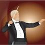 «Conductor» Pintura digital en lienzo. Leslie Frank Hollander