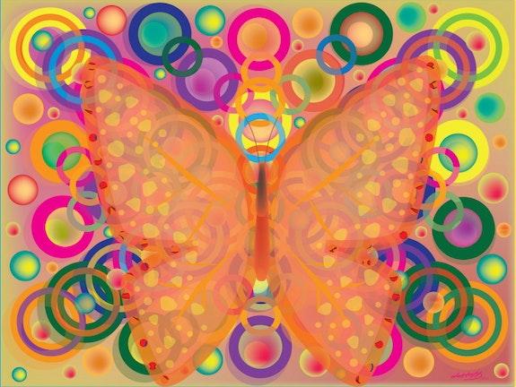 Art Digital Papillon Peinture Numerique Sur Toile Page 8242 Oeuvres D Artistes