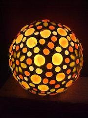 Tischlampe Sonnenblume. Diana Rosa Scholl