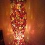 Tisch- oder Bodenlampe Phallus. Diana Rosa Scholl