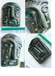 Maske - Preinca Chicha aus Stein. Gabriel Rusu
