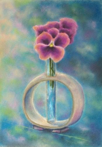 """""""Pensamientos Celestial"""" - Dibujo - Pastel. Julien R. Julien Raboud"""