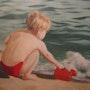 L'enfant et la mer. Xavier Alzuria