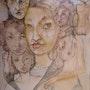 Les six reines. François Pinna
