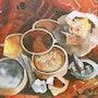 Les saveurs d'ailleurs. Edith Driffort