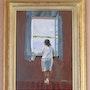 Muchacha en la ventana (copia de Salvador Dalí). Nicole Vacher