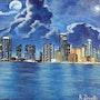 Ny blue. Anne Brunello
