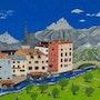 Le village aux oliviers. Laurent Cercot