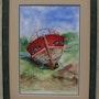 La barque rouge. Jean-Pierre Lemoine