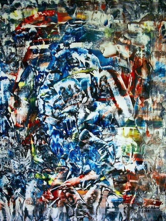 Guerra y paz. Libia n-7 visto por ammari-art. Ammari-Art Ammari-Art Artiste Plastique