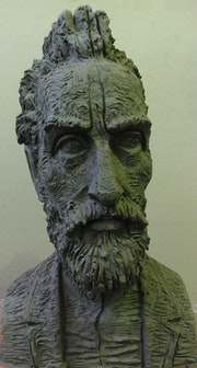 The portrait of Van Gogh.