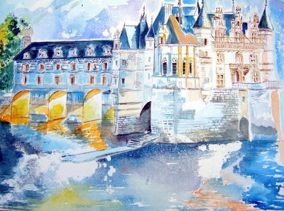 Château de Chenonceau. Marie-Pierre Menta Pioupiou06