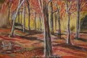 Forêt en feu. Frédéric Morival