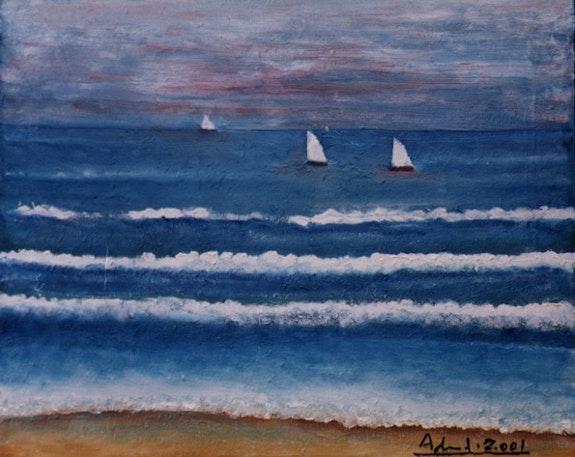 Paysage marin. Adolfo Fernandez Adolfo Fernandez
