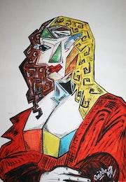 Joconde cubiste.