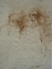 Raphaël : Trois portraits raphaëlesques signés vxqr. Historien d'art, Archéologue; Chercheur Free-L.