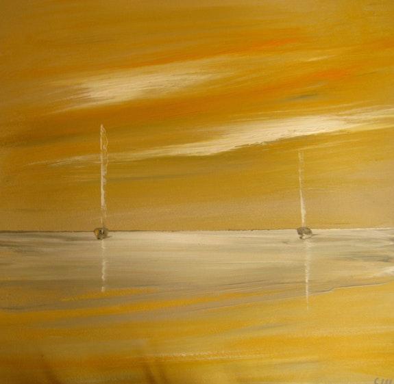 Contemporary seascape. Scott Waterhouse Scott Waterhouse