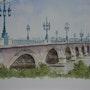 Le Pont de Pierre à Bordeaux.. S. Boudey