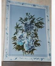 Composition en bleue.