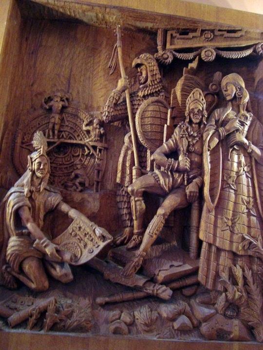 Planos y echadura calendario azteca. Jose Antonio Alcantar Jose Antonio Alcantar