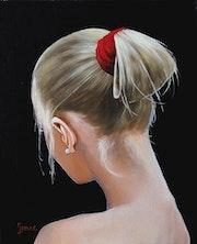 Jeune femme avec une perle.