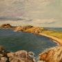 Pointe de primel cote magnifique du Finistère nord. Andre Blanc