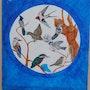 La cage aux oiseaux création1991. Claude Sauvage