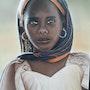 La bufanda de Malí jóvenes. Monique Vacher