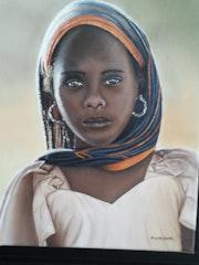 Der junge malische Schal.