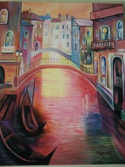 Venedig Vollfarbe.