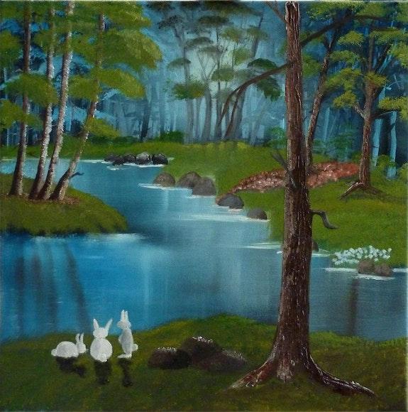 Rabbit paradise.. Lisette Swinnen Lisette