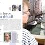 Article dans le magazine «Artistes Magasine» n°154 novembre/décembre 2011. Thierry Duval