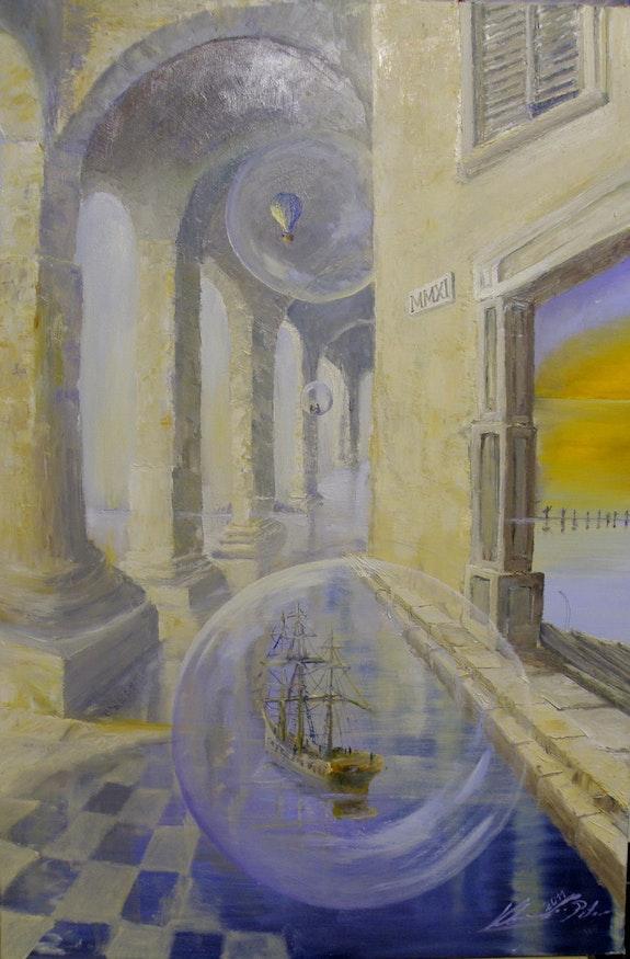Treibend durch mediterranes Licht. Peter Klonowski Peter Klonowski
