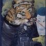 Tiger in tube. Jamart