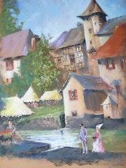 Jour de fete médiévale à Segur le Chateau en Corrèze. Dominique Monneraux