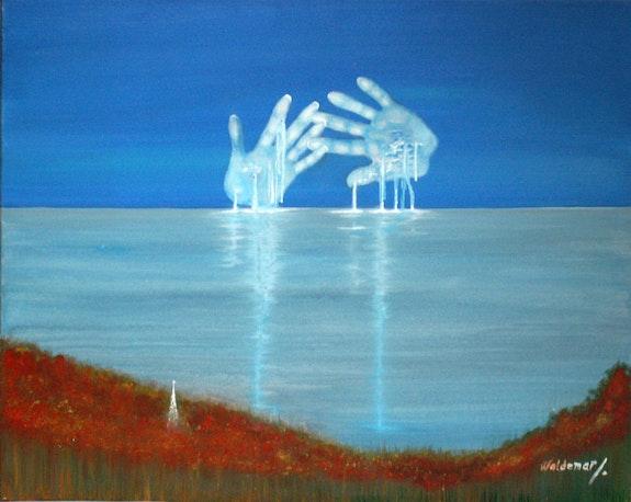 L'horizon de mon île.. Waldemar Nobre Waldemar Nobre