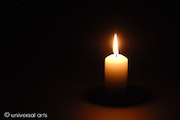 Candle Light - limited photograph - Mario Strack.