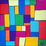 Rectangles, carrés et couleurs.
