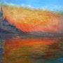 Copie - Crépuscule à Venise de C. Monet.