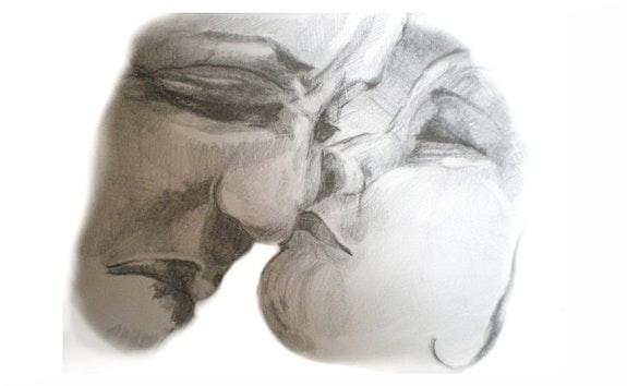 Der Kuss.  Saschinka