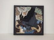 Blue Composition. Claire Fischer