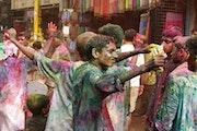 Carnaval, Delhi, Inde.. Bastien Larue