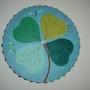 Tréfle a quatre feuilles. Claude Sauvage