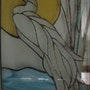 Le héron. Artiste Patricia Mazzeo