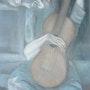 Copie - Le vieil homme à la guitare de Picasso. Mimi