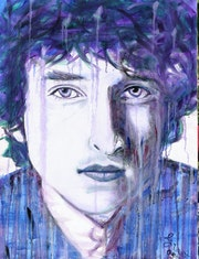 Bob Dylan portrait bobby dylan.