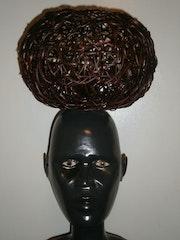 Lampe en forme d'homme africain. Dydodu37