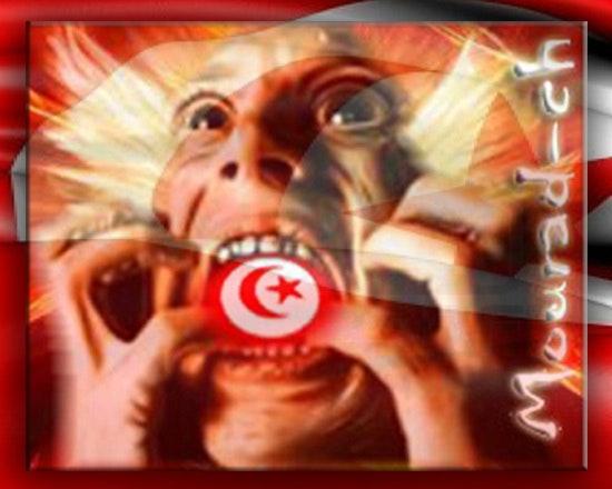 Création affiche révolution tunisienne. Chaffai Mourad Mourad Chaffai