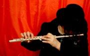Flute player. Alex Solodov