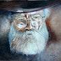 Un vieil homme (copie aquarelle). Mimi